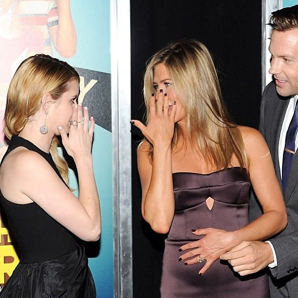 Emma Roberts, Jennifer Aniston, Jason Sudeikis