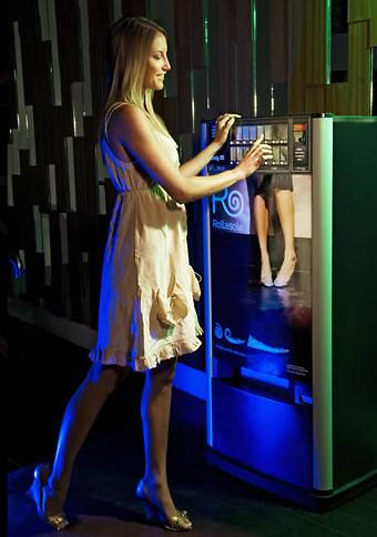 Ballet Flat Vending Machine