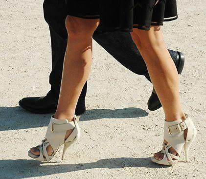 Bondage Heel Street Style
