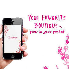 Free People Celebrates the Launch of the iPhone App