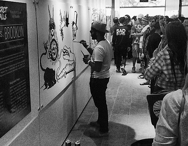 G-Shock Presents Secret Walls' First NYC Live Art Battle: Queens vs. Brooklyn
