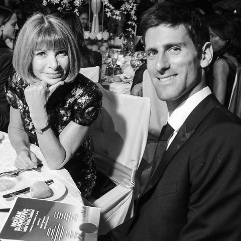 Anna Wintour, Novak Djokovic