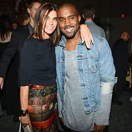 Carine Roitfeld, Kanye West