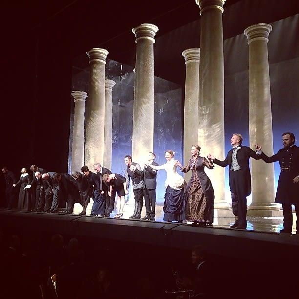 """Eugene Onegin"" at the Metropolitan Opera"