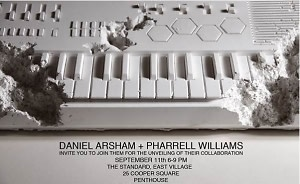 Daniel Arsham X Pharrell Williams Collaboration