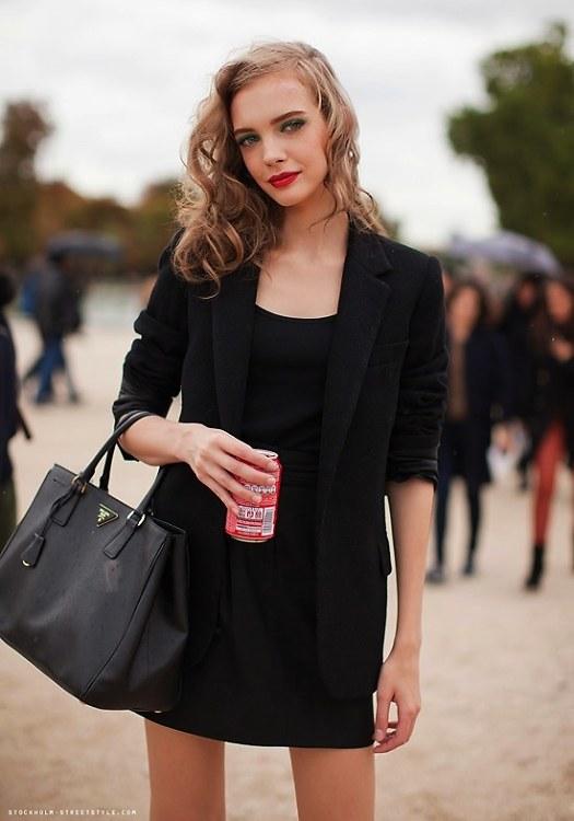 Prada Saffiano Lux Double-Zip Tote Bag