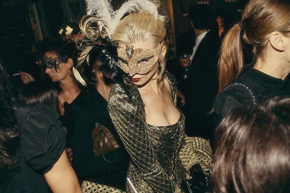 Vogue Paris's 90th anniversary masquerade ball