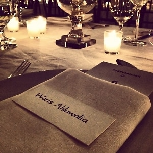 House of Waris for Forevermark Collection Dinner