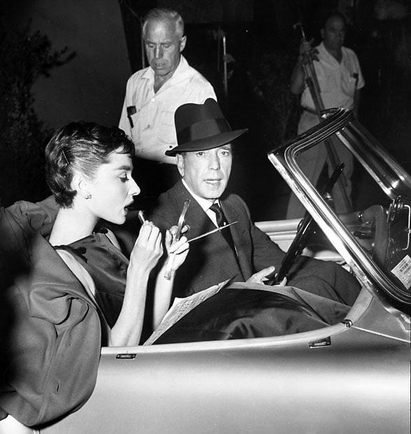 Audrey Hepburn, Humphrey Bogart