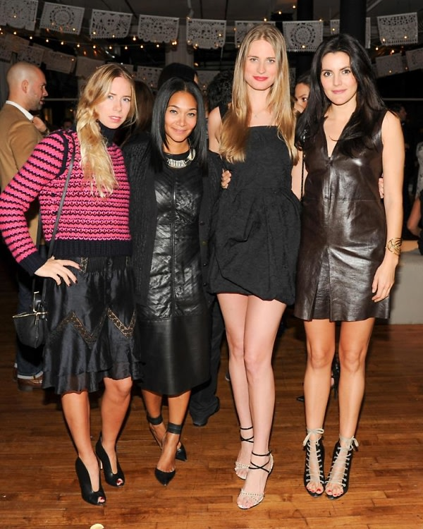 Chrissy Sackler, Monique Pean, Julie Henderson, Eugenia Gonzalez