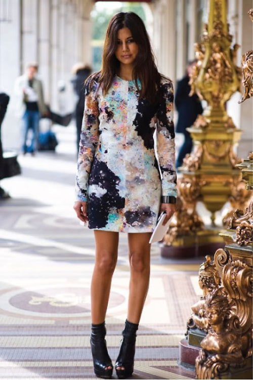 Fall Dress Street Style