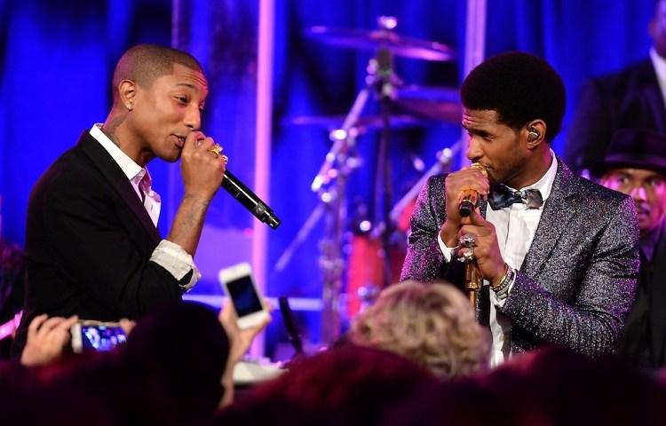 Pharrell Williams, Usher