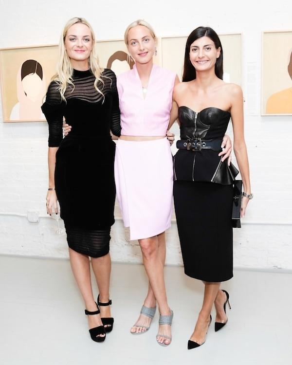 Virgine Courtin-Clarins, Claire Courtin-Clarins, GIovanna Battaglia