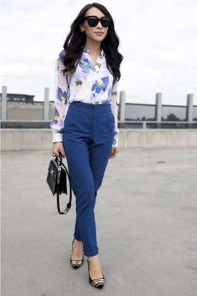 Tapered Trouser Street Style