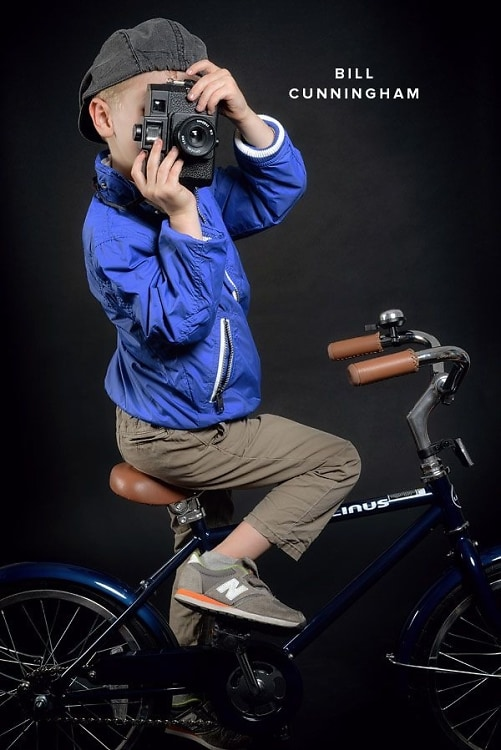 Bill Cunningham Costume