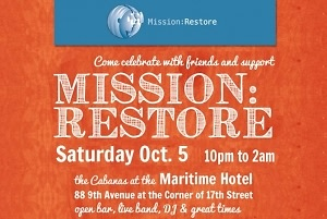 Mission: Restore at The Maritime Hotel