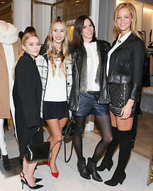 Ashley Olsen, Harley Viera-Newton, Ruby Aldridge, Erin Heatherton