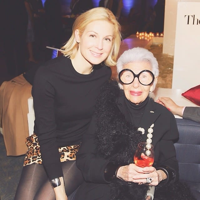 Kelly Rutherford, Iris Apfel