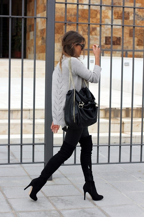 ba052d06323 Street Style Trend  6 Ways To Wear Over-The-Knee Boots