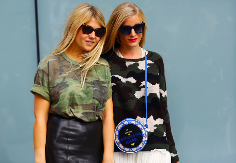 Camouflage Street Style