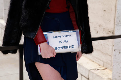 New York Is My Boyfriend Bag