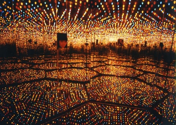 Yayoi Kusama's I Who Have Arrived In Heaven