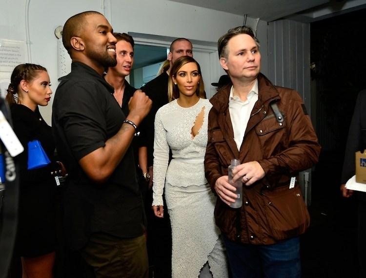 Kanye West, Jonathan Cheban, Kim Kardashian, Jason Binn