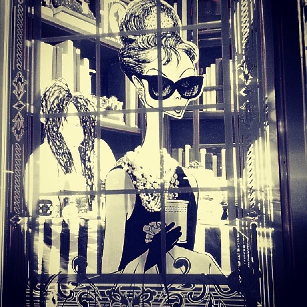 Henri Bendel Holiday Window