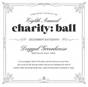 charitywater's 8th Annaul charity: ball