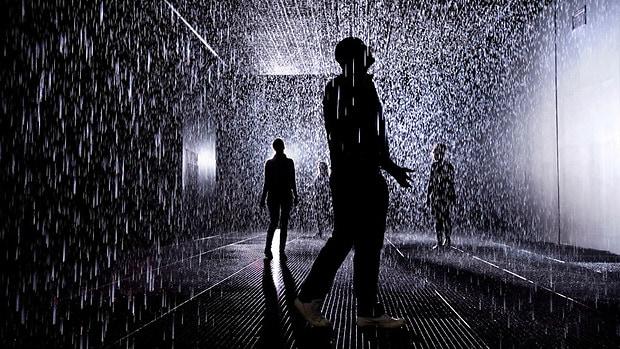 Rain Room at MoMA