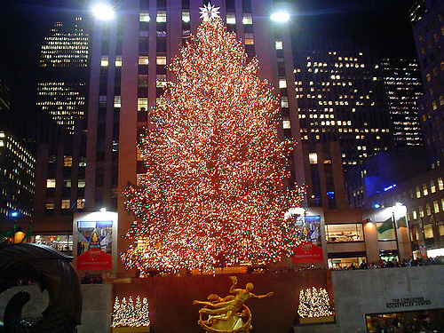The Rockefeller Center Christmas Tree Lighting