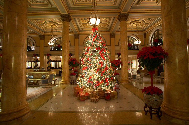 10 best luxury hotels in dc for holiday drinks and dining - Christmas In Dc