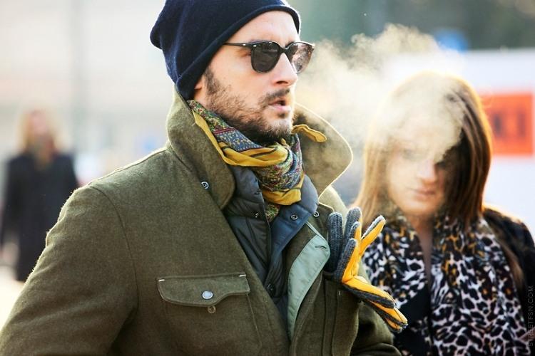 Men's Winter Street Style