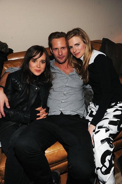 Ellen Page, Alexander Skarsgard, Brit Marling