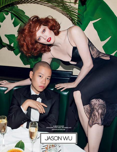 Jason Wu, Karen Elson