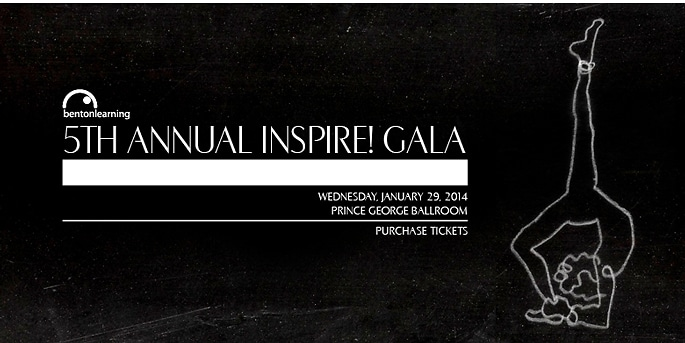Bent on Learning 5th-Annual Inspire! Gala