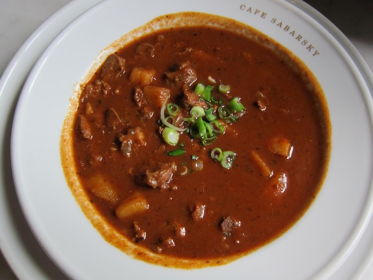 Cafe Sabarsky's Goulash