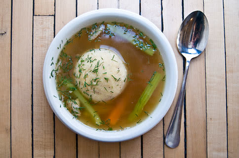 Mile End Deli's Matzah Ball Soup