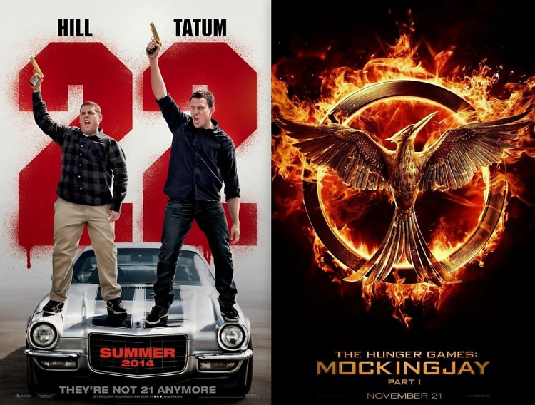 22 Jump Street, The Hunger Games: Mockingjay Part 1