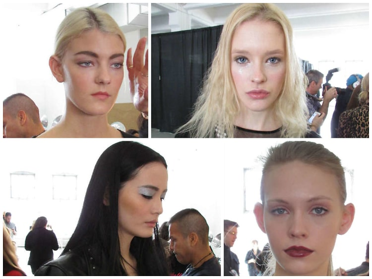 Tracy Reese Fall 2014 Beauty