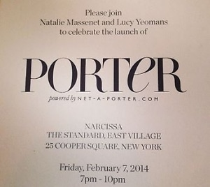 Porter Launch Party