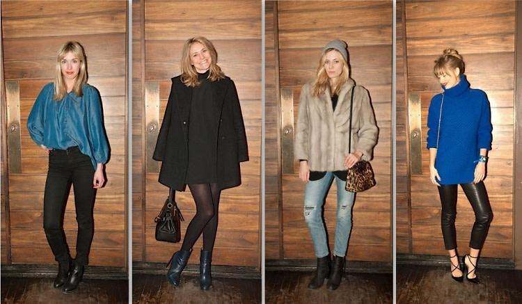 Chelsea Bingham, Ashley Gail, Elizabeth Minnett, Natalie Decleve