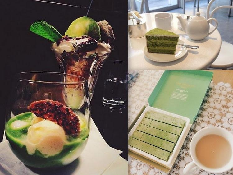 Matcha Desserts