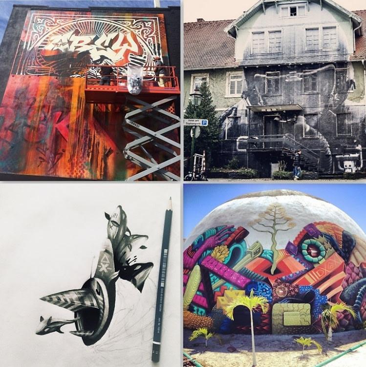 Artist Instagram Accounts