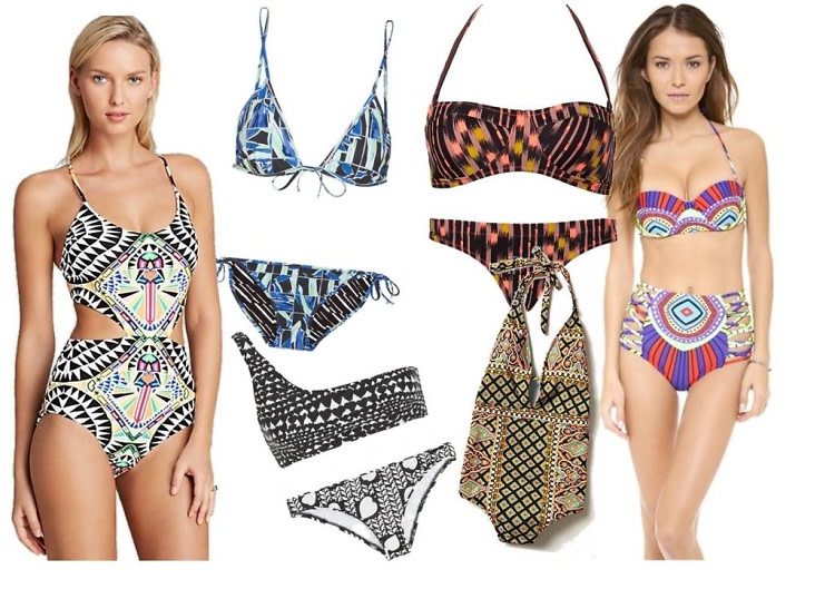 Tribal Bathing Suits