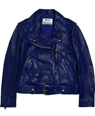 Acne Studios Mape Leather Biker Jacket