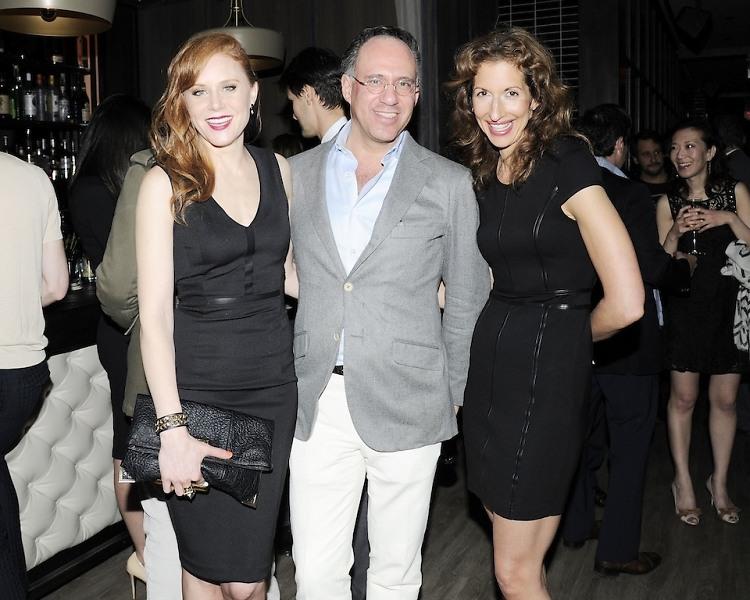 Christiane Seidel, Andrew Saffir, Alysia Reiner