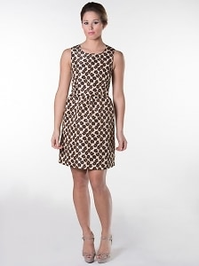 RED Valentino Animal Print Dress