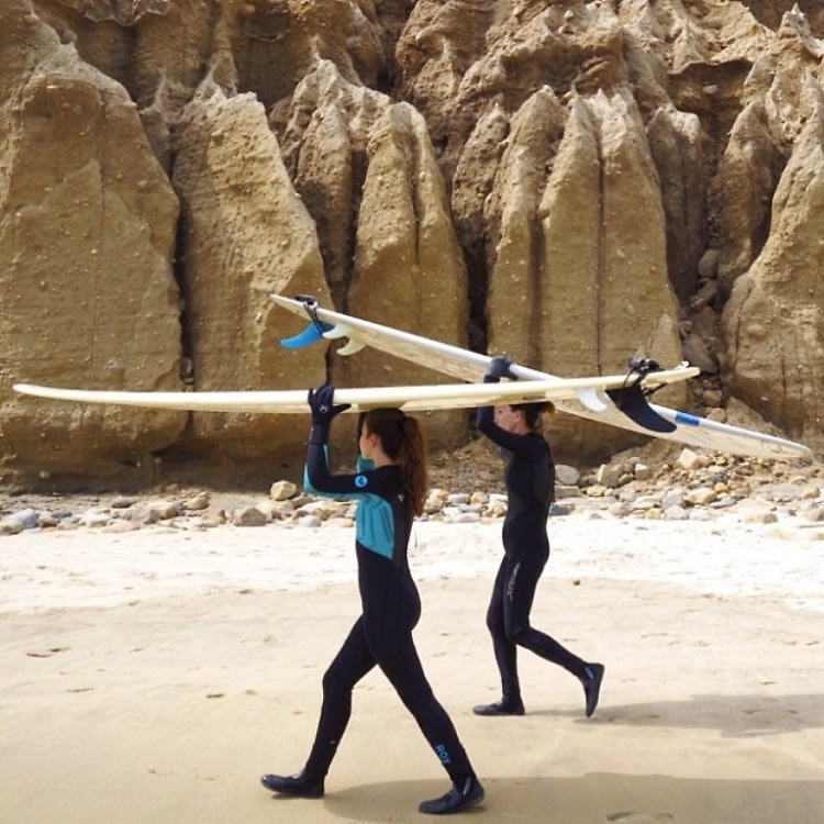 Lady Surfers
