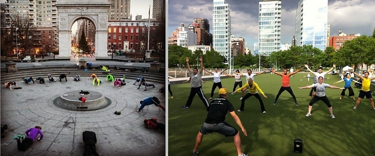 NYC Outdoor Fitness